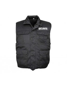 Gilet SECURITE molletonné