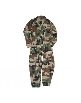 Combinaison militaire 2 zips camouflage CE