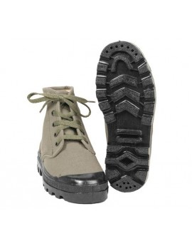 CANVAS COMMANDO BOOTS 5 TROUS AF VA