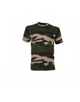T-shirt Camouflage Centre Europe