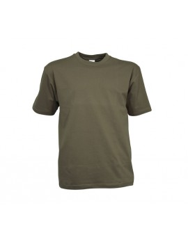 T-shirt manche courte vert armée 145gr