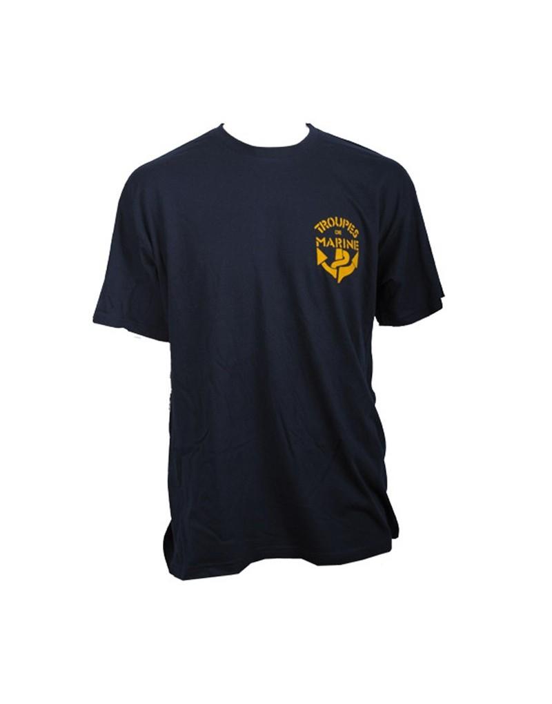 t shirt tdm tshirt troupes de marine tshirt militaire. Black Bedroom Furniture Sets. Home Design Ideas