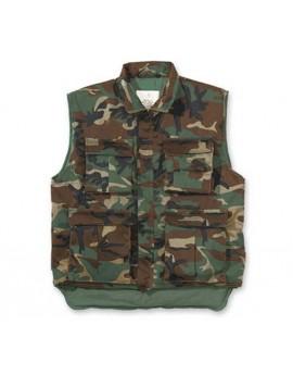 Gilet TRUCKER enfant camouflage CE