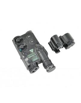 Porte batterie Ni-MH et Li-Po AN/PEQ-4 noir
