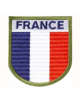 Ecusson de bras France haute visibilité brodé sur tissu
