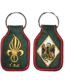 Porte clefs LEGION 1ER RE écusson