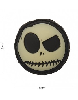 Patch 3D PVC : big nightmare smiley