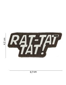 Ecusson RAT-TAT-TAT !