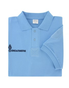 Polo GENDARMERIE Homme manches courtes 245gr