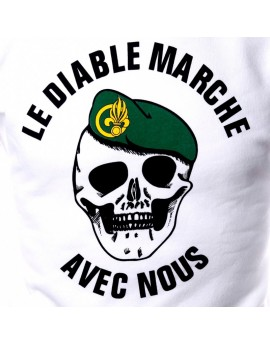 T-shirt diable marche Légion