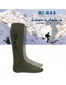 Mi-bas Grand Froid OPEX