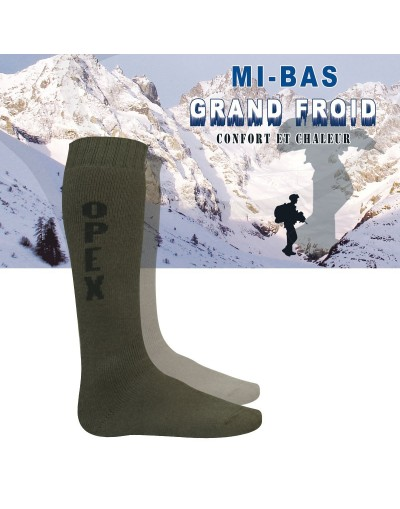 Mi-bas Grand Froid OPEX