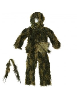 Tenue GHILLIE 4 PIECES SPECIAL FORCES resistant au feu
