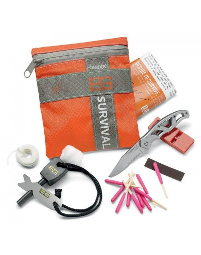 "Kit de survie basic ""Bear Grylls"""