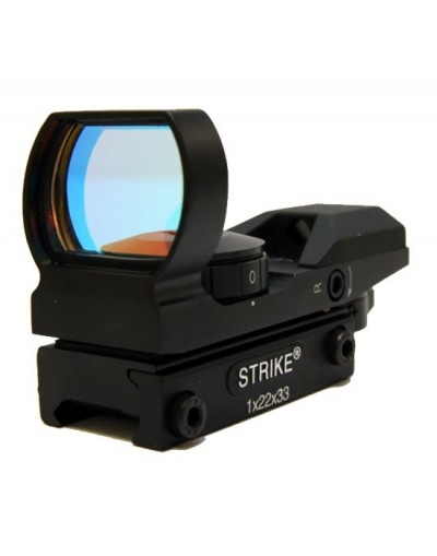 Red dot pro 4 positions1x22x33mm STRIKE SYSTEMS