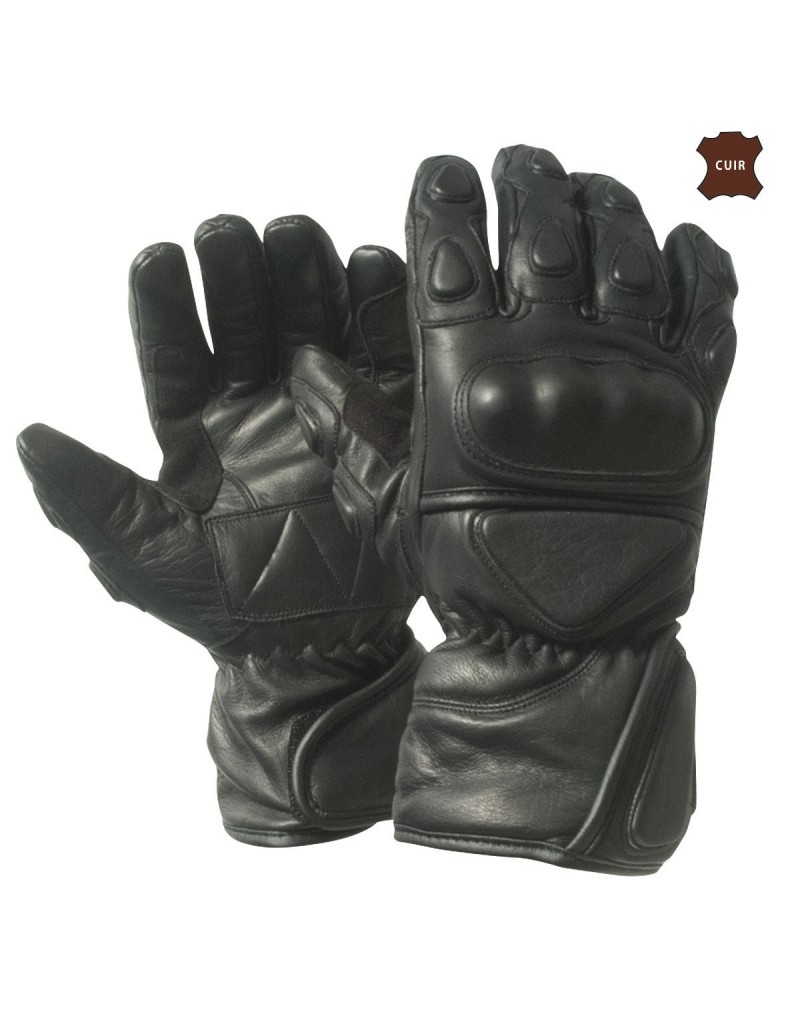 gants moto cuir cordura renforc motard police militaire. Black Bedroom Furniture Sets. Home Design Ideas