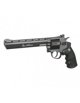 Revolver billes acier 4.5mm DAN WESSON 8 pouces noir CO²