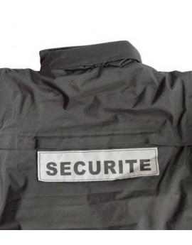Parka SECURITE noir