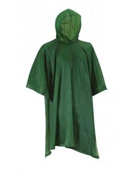 Poncho PVC vert armée