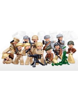 Sluban WWII Minifigurines 12 pcs M38-B0581