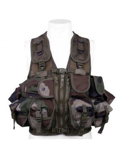 Gilet assaut militaire 9 poches