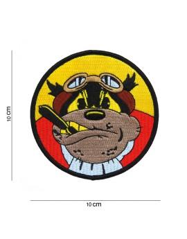 Patch Flying Bulldog