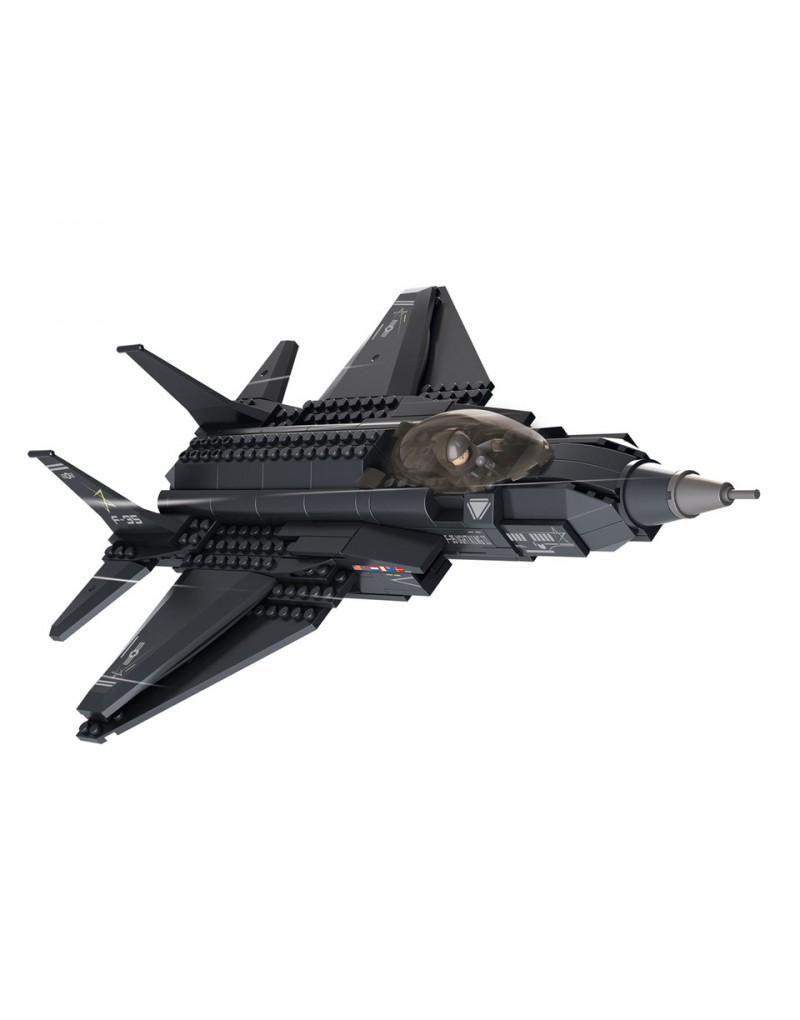 Jeux briques construction avion de chasse sluban lego - Avion de chasse en lego ...