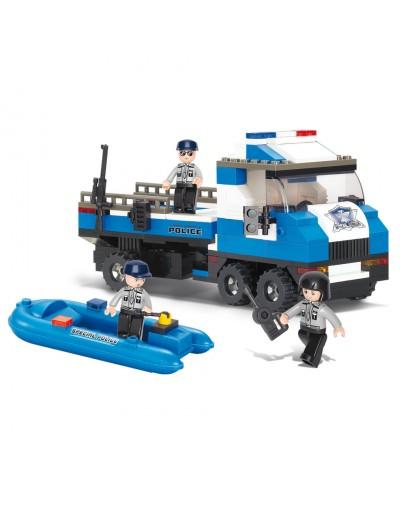 Sluban : CAMION DE POLICE M38-B0186