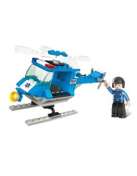 Sluban HÉLICOPTÈRE DE POLICE M38-B0175