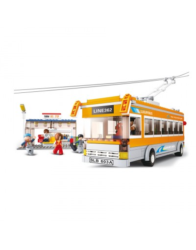 Sluban : TROLLEYBUS M38-B0332