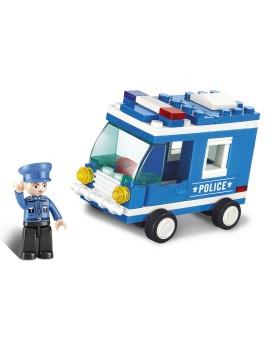 Sluban : CAMION DE POLICE M38-B0177