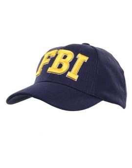 Casquette FBI brodée