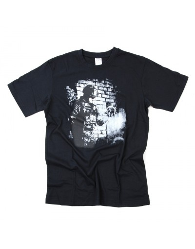 T-SHIRT 101INC SOLDIER SKULL