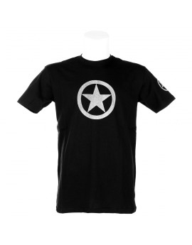 T-SHIRT GREY ALLIED STAR