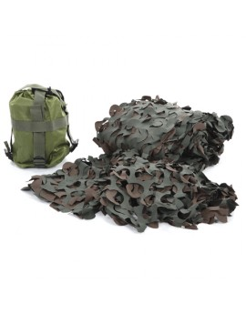 FILET DE CAMOUFLAGE WOODLAND + HOUSSE