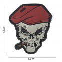 "Patch 3D PVC "" skull sigar """