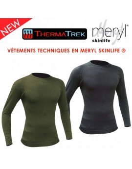 Tshirt thermatrek Meryl 150gr manches longues