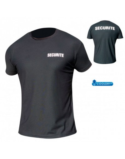 T-SHIRT COOLDRY MAILLE PIQUEE SECURITE