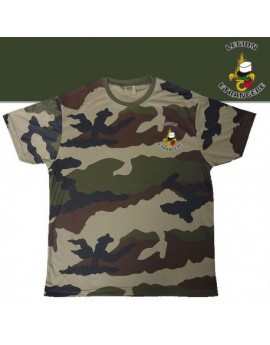TEE SHIRT COOLDRY CAMO CE SERIGRAPHIE LEGION