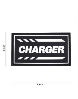 ECUSSON 3D PVC CHARGER NOIR