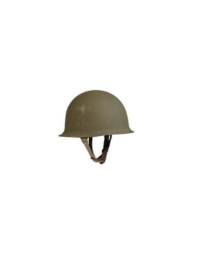 casque armée française M51 usagé avec sous casque, pour déco