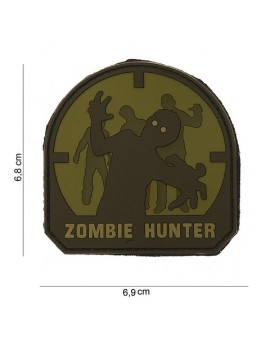 "Patch PVC "" Zombie Hunter ARID """