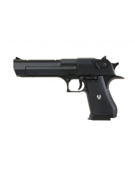HFC - Desert eagle - Black - GAZ - GBB - 6mm - 1J