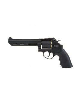 HFC - Revolver - 6 inch black - GAZ - GNB - 6mm - 0.6J