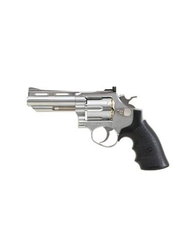 HFC - Revolver - 4 inch silver - GAZ - GNB - 6mm - 0.6J