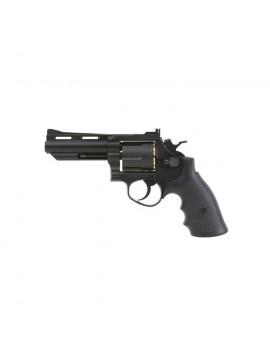 HFC - Revolver - 4 inch black - GAZ - GNB - 6mm - 0.6J