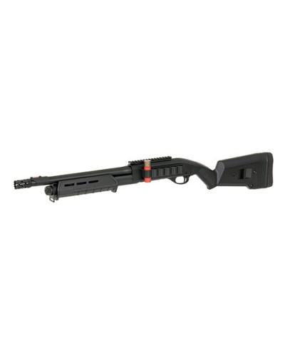 CYMA - Fusil à pompe spring type M870 MGP court full métal - Tri-Shot 6 mm - noir