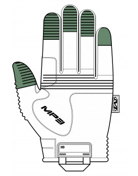 Gants de combat M-PACT 3 noir MECHANIX