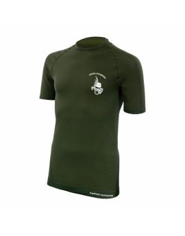 Tee shirt active line légion manches courtes vert armée