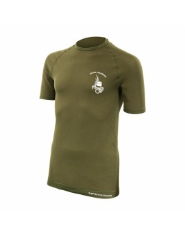 Tee shirt active line légion manches courtes coyote